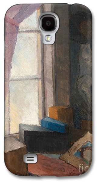 At The Window Galaxy S4 Case by Celestial Images