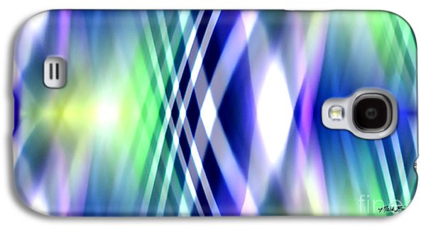 Abstract Digital Paintings Galaxy S4 Cases - At Your Own Risk Galaxy S4 Case by Mark Birkland