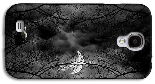 Printed Photographs Galaxy S4 Cases - Athenas Bird Galaxy S4 Case by Lourry Legarde