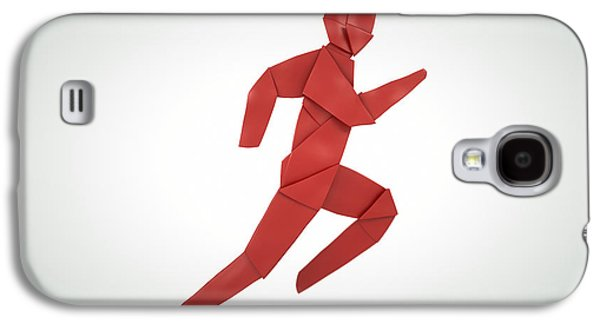 Sports Sculptures Galaxy S4 Cases - Athletics  Galaxy S4 Case by Richard Seanor