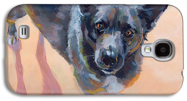Cattle Dog Galaxy S4 Cases - Atira Galaxy S4 Case by Kimberly Santini