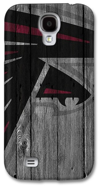 Atlanta Falcons Wood Fence Galaxy S4 Case by Joe Hamilton