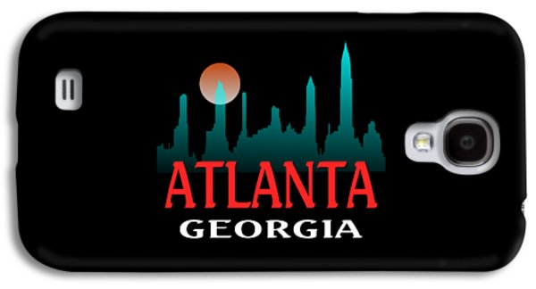 Skylines Tapestries - Textiles Galaxy S4 Cases - Atlanta Georgia Galaxy S4 Case by Art America - Art Prints - Posters - Fine Art