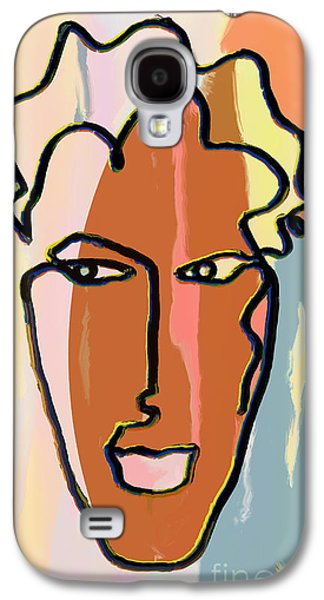 Abstract Digital Drawings Galaxy S4 Cases - Attraction   Copyright Theo J Huckins 2015  TJH_1048a_004bc Galaxy S4 Case by Theo J Huckins