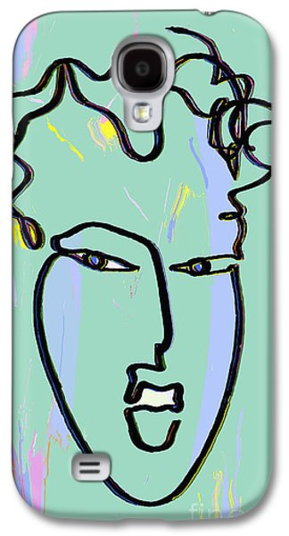 Abstract Digital Drawings Galaxy S4 Cases - Attraction Copyright Theo J Huckins 2015  TJH_1085a_003af   Galaxy S4 Case by Theo J Huckins
