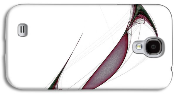 Algorithmic Abstract Galaxy S4 Cases - Attractor No. 42 Galaxy S4 Case by Mark Eggleston