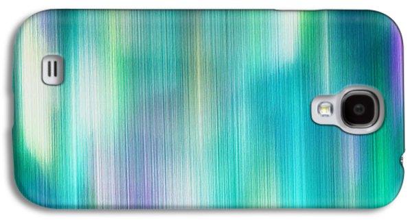 Aurora Borealis Abstract Galaxy S4 Case by Lourry Legarde