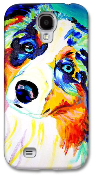 Rainbow Galaxy S4 Cases - Aussie - Moonie Galaxy S4 Case by Alicia VanNoy Call
