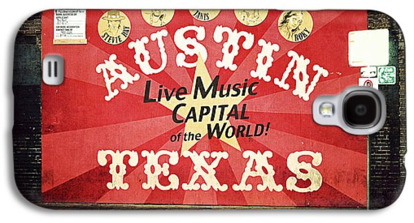Austin Live Music Galaxy S4 Case by Trish Mistric