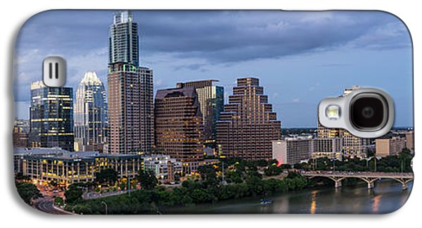First Lady Galaxy S4 Cases - Austin Night Cityscape From Above  Galaxy S4 Case by Tod and Cynthia Grubbs
