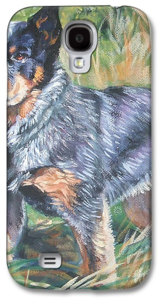 Cattle Dog Galaxy S4 Cases - Australian Cattle Dog 1 Galaxy S4 Case by Lee Ann Shepard