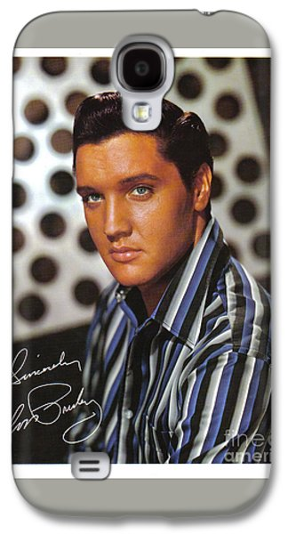 Autographed Elvis Galaxy S4 Case by Pd