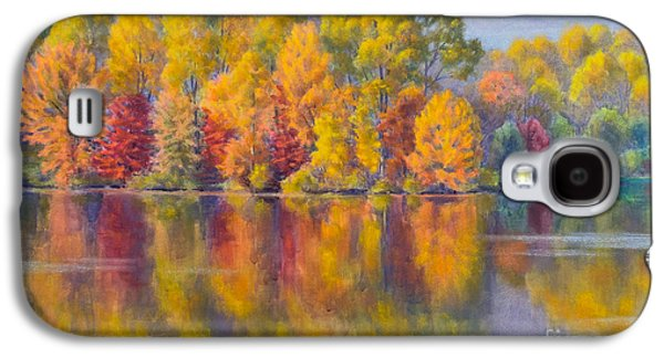 Landmarks Pastels Galaxy S4 Cases - Autumn Afternoon 1 Galaxy S4 Case by Fiona Craig