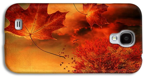 Autumn Blaze Galaxy S4 Case by Lourry Legarde