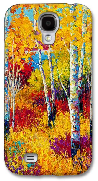 Fall Leaves Galaxy S4 Cases - Autumn Dreams Galaxy S4 Case by Marion Rose