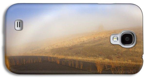 Yakima Valley Galaxy S4 Cases - Autumn Fog bow Galaxy S4 Case by Mike  Dawson