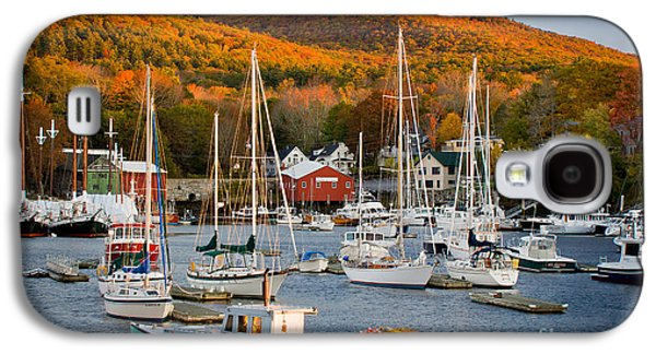 Mid-coast Maine Galaxy S4 Cases - Autumn Gold Galaxy S4 Case by Susan Cole Kelly