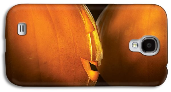 Secret Whispers Photographs Galaxy S4 Cases - Autumn - Halloween -  Smile if your happy Galaxy S4 Case by Mike Savad