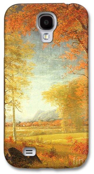 Autumn In America Galaxy S4 Case by Albert Bierstadt