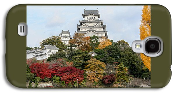 Fantasy Photographs Galaxy S4 Cases - Autumn in Himeji Galaxy S4 Case by Peteris Vaivars