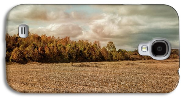 Autumn In The Country Landscape Scene Galaxy S4 Case by Jai Johnson