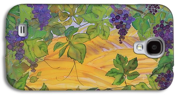 Food And Beverage Tapestries - Textiles Galaxy S4 Cases - Autumn In Wine Country Galaxy S4 Case by Carolyn Doe
