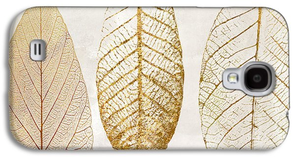 Autumn Leaves IIi Fallen Gold Galaxy S4 Case by Mindy Sommers