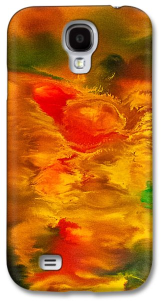 Nature Abstract Galaxy S4 Cases - Autumn Leaves Galaxy S4 Case by Stanislav Plavcic