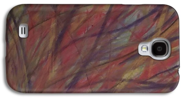 Abstract Digital Drawings Galaxy S4 Cases - Autumn Lines Galaxy S4 Case by Roy Hummel