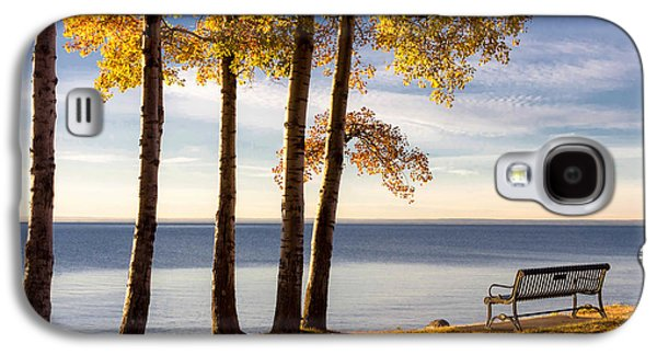 Galaxy S4 Cases - Autumn Morn on the Lake Galaxy S4 Case by Mary Amerman