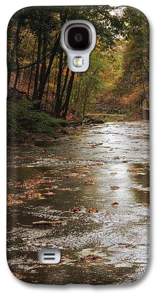 Autumn River Glow Galaxy S4 Case by Jessica Jenney