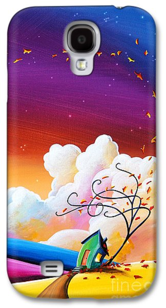 Dreamscape Galaxy S4 Cases - Autumn Skies III Galaxy S4 Case by Cindy Thornton