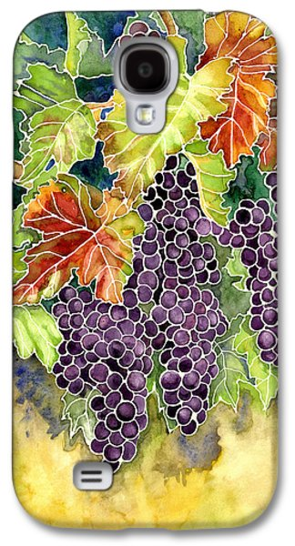 Autumn Vineyard In Its Glory - Batik Style Galaxy S4 Case by Audrey Jeanne Roberts