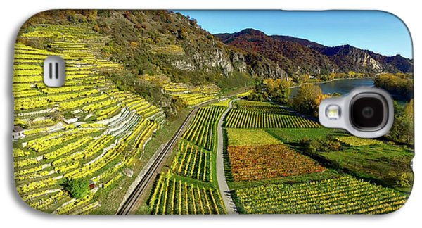 Autumn Vineyards - Germany Galaxy S4 Case by Chris De Wit