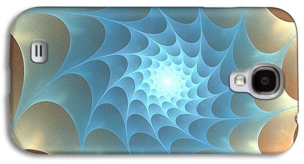 Colorful Galaxy S4 Cases - Autumn Web Galaxy S4 Case by Anastasiya Malakhova