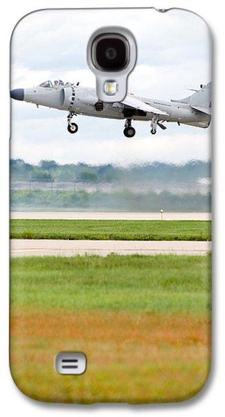 Av-8 Harrier Galaxy S4 Case by Sebastian Musial