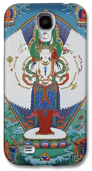 Avalokiteshvara Lord Of Compassion Galaxy S4 Case by Sergey Noskov