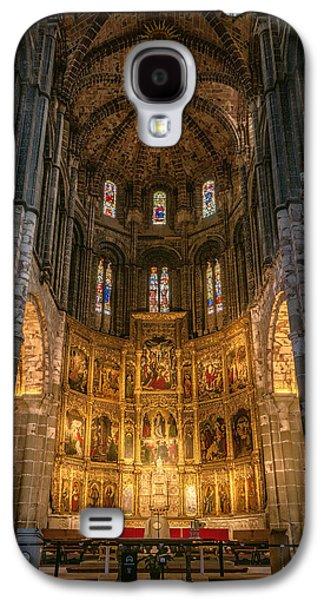 Avila Cathedral Galaxy S4 Case by Joan Carroll