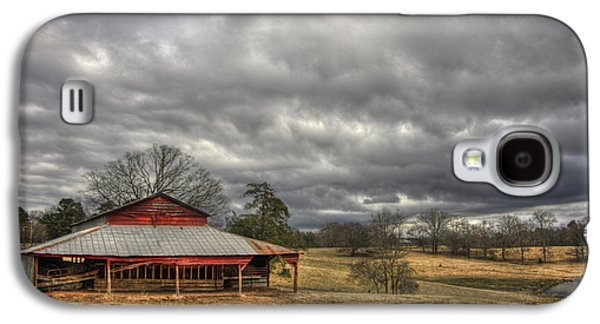 Awaiting Spring The Red Barn Galaxy S4 Case by Reid Callaway