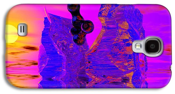Abstract Digital Photographs Galaxy S4 Cases - Awakening Galaxy S4 Case by David Lane
