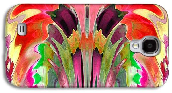 Abstract Digital Digital Galaxy S4 Cases - Awakening Galaxy S4 Case by Valerie Beth