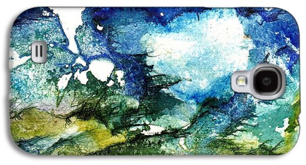 Mystical Landscape Paintings Galaxy S4 Cases - Away Galaxy S4 Case by Anne Duke