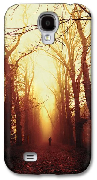 Landscapes Photographs Galaxy S4 Cases - Away Galaxy S4 Case by Joanna Jankowska