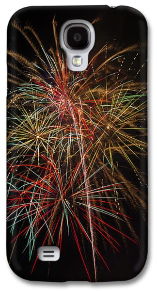 Awesome Amazing Fireworks Galaxy S4 Case by Garry Gay