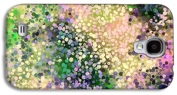 Abstract Digital Tapestries - Textiles Galaxy S4 Cases - Azelia Dreams Galaxy S4 Case by Suzi Freeman
