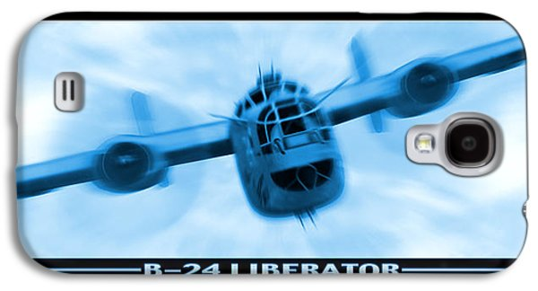 Warbird Galaxy S4 Cases - B-24 Liberator Galaxy S4 Case by Mike McGlothlen