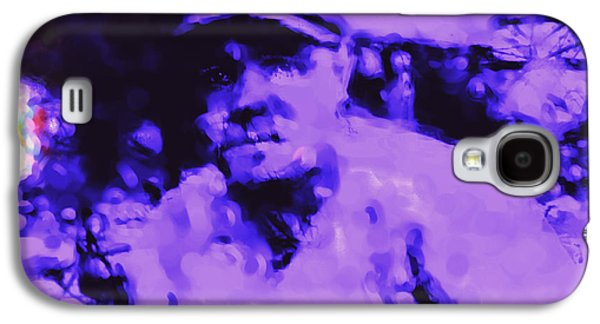 Red Sox Paintings Galaxy S4 Cases - Babe Ruth 2b Galaxy S4 Case by Brian Reaves