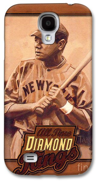 Babe Ruth Galaxy S4 Case by Pd