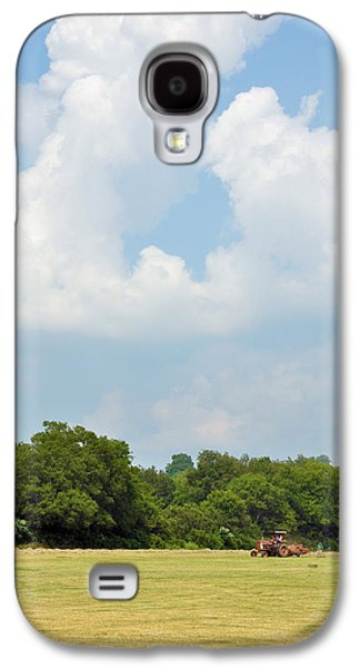 Best Sellers -  - Haybale Galaxy S4 Cases - Bailing Galaxy S4 Case by Jan Amiss Photography