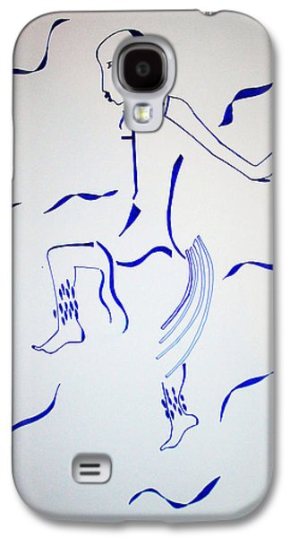 Ancient Galaxy S4 Cases - Bakiga Dance Galaxy S4 Case by Gloria Ssali